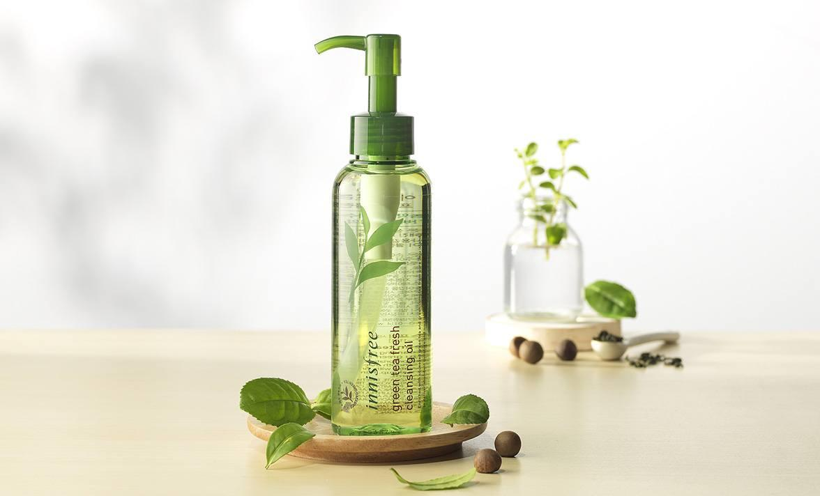 Dầu Tẩy Trang Innisfree Green Tea Fresh Cleansing Oil 150ml 2